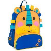 Σακίδιο πλάτης παιδικό λιονταράκι Stephen Joseph New Sidekick Backpack Lion.