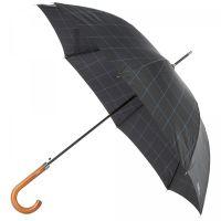 Ομπρέλα ανδρική μεγάλη αυτόματη μαύρη Ferré Stick Umbrella Black.