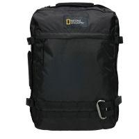 Τσάντα ταξιδίου - σακίδιο πλάτης μαύρο National Geographic Hybrid 3 Way Backpack Black