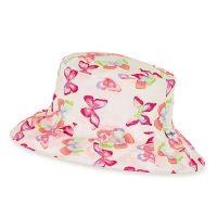 Καπέλο καλοκαιρινό βαμβακερό φλοράλ με αντηλιακή προστασία Sterntaler