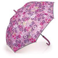 Ομπρέλα μεγάλη γυναικεία αυτόματη φλοράλ Gabol Stick Umbrella Linda