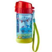 Παγουρίνο παιδικό με γκλίτερ αυτοκίνητα  Haba Glitter Zippy Cars Water Bottle