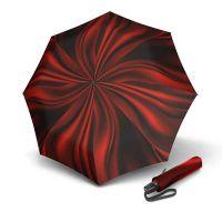 Ομπρέλα σπαστή γυναικεία αυτόματο άνοιγμα - κλείσιμο Knirps T.200 Folding Umbrella Duomatic Supernova Fire.