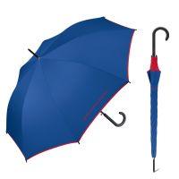 Ομπρέλα μεγάλη αυτόματη μπλε ρουά με ρέλι United Colors of Benetton Long Stick Umbrella Royal Blue