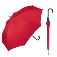 Ομπρέλα μεγάλη αυτόματη μπλε ρουά με ρέλι United Colors of Benetton Long Stick Umbrella Royal Blue.