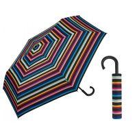 Ομπρέλα σπαστή αυτόματη ριγέ United Colors Of Benetton Super Mini RH Folding Umbrella Multi Stripes.