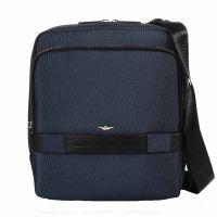 Τσάντα ώμου ανδρική μπλε Aeronautica Militare Urban Crossbody Bag Blue