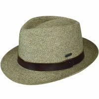Καπέλο καλοκαιρινό ψάθινο Kangol Waxed Braid Trilby