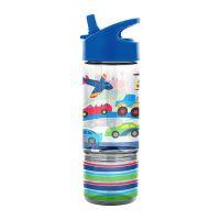 Παγουρίνο παιδικό με καλαμάκι και δοχείο σνακ μέσα μεταφοράς  Stephen Joseph Sip & Snack Bottles Transportation