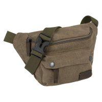 Τσαντάκι μέσης καμβάς χακί Camel Active Molina Waist Bag Khaki.