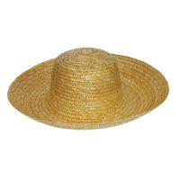 Καπέλο ψάθινο πλατύγυρο αγροτικό καλοκαιρινό Straw Farm Hat.