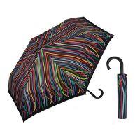 Ομπρέλα σπαστή πολύχρωμες κορδέλες United Colors Of Benetton Super Mini RH Folding Umbrella Ribbons.