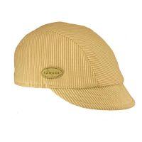 Καπέλο τραγιάσκα καλοκαιρινή μπεζ ριγέ Kangol Check Deeto Beige
