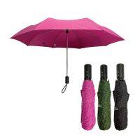 Ομπρέλα σπαστή γυναικεία με πουά αυτόματο άνοιγμα - κλείσιμο Guy Laroche Automatic Open - Close Folding Umbrella.