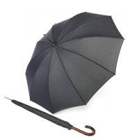 Long Automatic Stick Umbrella With Wooden Handle Knirps T.771 AC Gents Prints Straps
