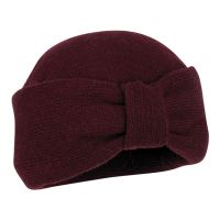 Winter Knitted Turban Hat You  Bordeaux