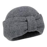 Τιρμπάν πλεκτό γυναικείο γκρι Hat You Turban Grey.