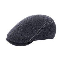 Καπέλο τραγιάσκα ανδρικό  χειμερινό γκρι με αυτιά Hat You Cap Anthracite