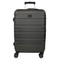Βαλίτσα σκληρή μεγάλη επεκτάσιμη ανθρακί με 4 ρόδες Rain 4W Expandable RB80104 Luggage 75 cm Anthracite.