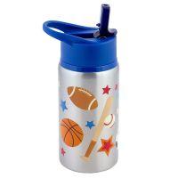 Παγουρίνο παιδικό ανοξείδωτο σπορ  Stephen Joseph Flip Top Stainless Steel  Water Bottle Sports