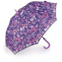 Ομπρέλα γυναικεία μεγάλη μωβ Gabol Ladies Jasmine Stick Umbrella Purple.