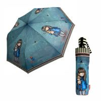 Ομπρέλα σπαστή αυτόματη Santoro Gorjuss Hush Little Bunny Automatic Folding Umbrella.