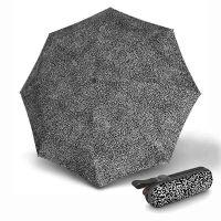 Manual Super Mini Folding Umbrella With UV Protection Knirps X1 Nuno Snow