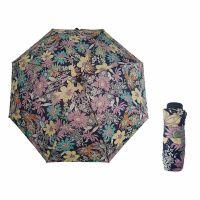Mini Folding Manual Umbrella Pierre Cardin Floral Blue