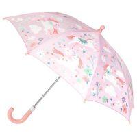 Ομπρέλα παιδική που χρωματίζεται στη βροχή μονόκερος Stephen Joseph Color Changing Umbrella Unicorn.