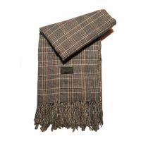 Winter Stole Georges Rech Small Checkered Beige