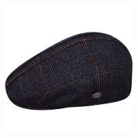 Καπέλο τραγιάσκα χειμερινό καρό μπλε Bailey Manz Cap Blue.