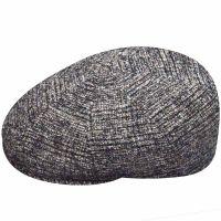 Καπέλο τραγιάσκα χειμερινό καρό μπεζ - καφέ Kangol Plaid 504 Cap