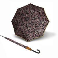 Ομπρέλα μεγάλη αυτόματη Knirps Stick Long Automatic Leaves Blue.