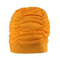 Σκουφάκι θάλασσας μονόχρωμο πορτοκαλί Lycra Swimming Cap Orange