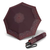 Ομπρέλα σπαστή  αυτόματο άνοιγμα - κλείσιμο βυσσινή Knirps T.200 Folding Umbrella Duomatic Unity Bordeaux.