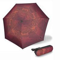 Ομπρέλα super mini σπαστή κόκκινη Knirps X1 Ecorepel Miracle Fire.