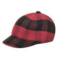 Καπέλο τζόκεϊ καρό Kangol Frontier Spacecap, ροζ, δεξιά όψη