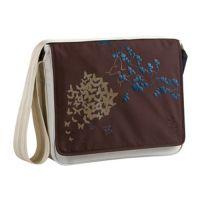 Messenger Momy Bag Lässig  Butterfly beige/choco