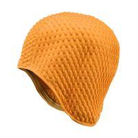 Σκουφάκι θάλασσας πορτοκαλί γκοφρέ Ladies Swimming Cap Orange