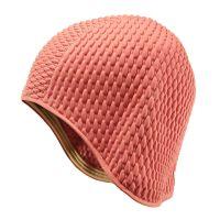 Σκουφάκι θάλασσας ροζ γκοφρέ Ladies Swimming Cap Pink