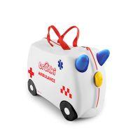 Βαλίτσα παιδική αντιμικροβιακή Abbie το ασθενοφόρο Trunki Abbie The Ambulance