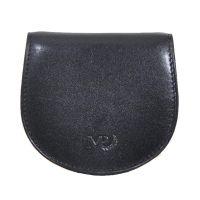 Πορτοφόλι δερμάτινο κερμάτων ανδρικό μαύρο Marta Ponti Tagus Black