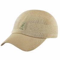 Καπέλο τζόκεϊ καλοκαιρινό μονόχρωμο μπεζ Kangol Tropic Ventair Space Cap