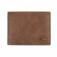 Leather Horizontal Wallet Camel Active Salo Cognac