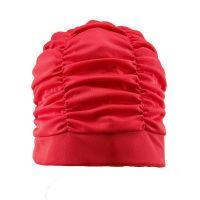 Women's Lycra Swimming Cap Red