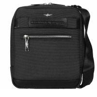 Men's Crossbody Bag Aeronautica Militare Urban Black