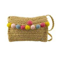 Kids' Crossbody Straw Bag Hat You