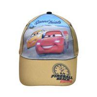 Καπέλο τζόκεϊ καλοκαιρινό βαμβακερό Disney Cars Speed Trials