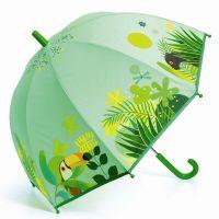 Kids Manual Umbrella Djeco Tropical Jungle