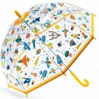 Kids Transparent Umbrella Djeco Space